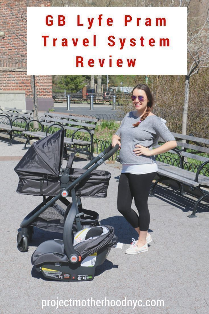 GB Lyfe Travel System Review Travel system, Parenting