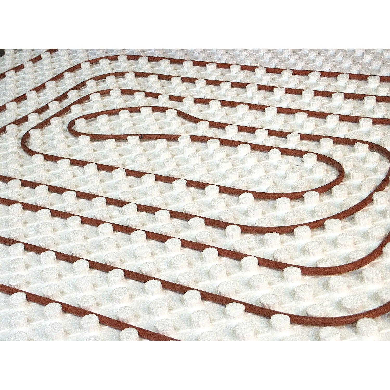 Carrelage Sur Plancher Chauffant Basse Temperature kit 1 m² plancher chauffant basse temp easyfloor 170bao -50