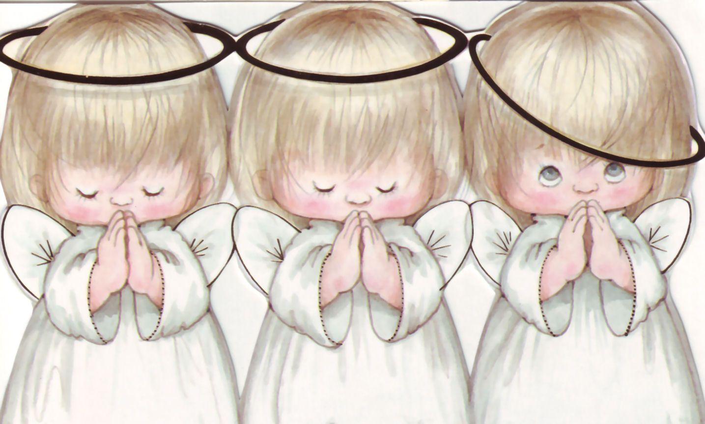 CHRISTMAS ANGELS CLIP ART