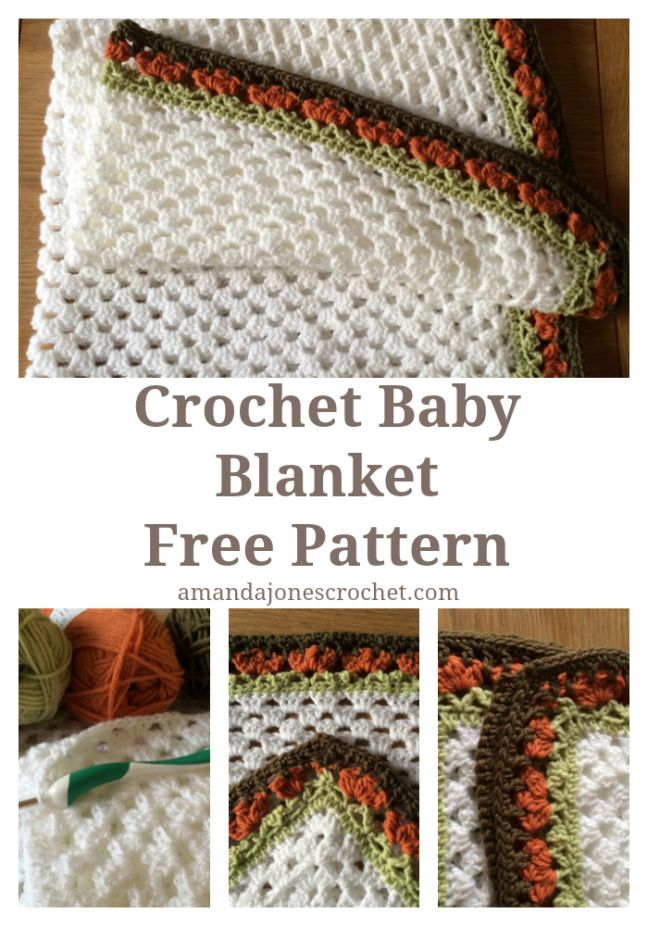 Free Crochet Pattern - Baby Blanket - In the jungle | baby afghans ...