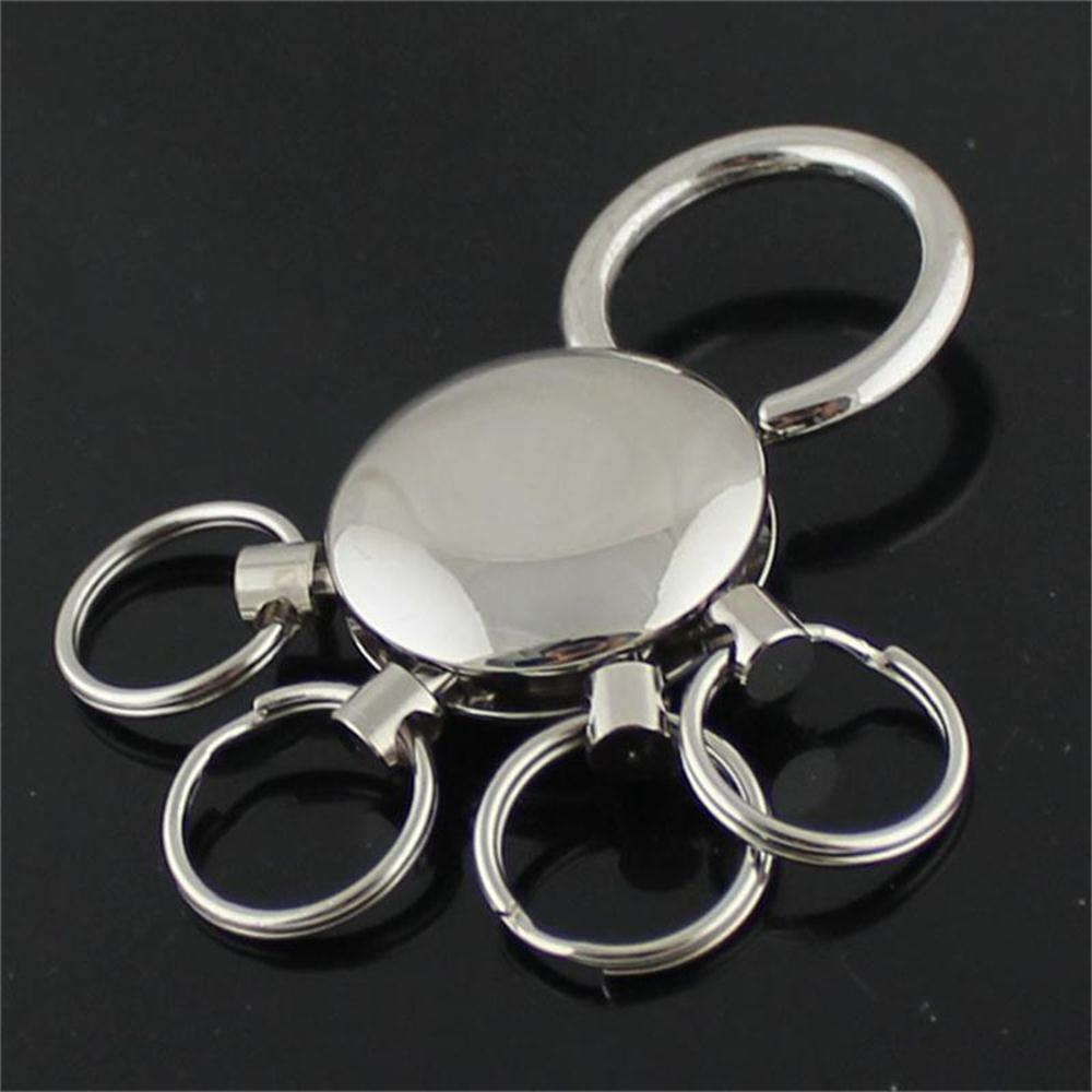 On Pants Belt Keychain Detachable Keychain Key Chain 4 Ring Keyring