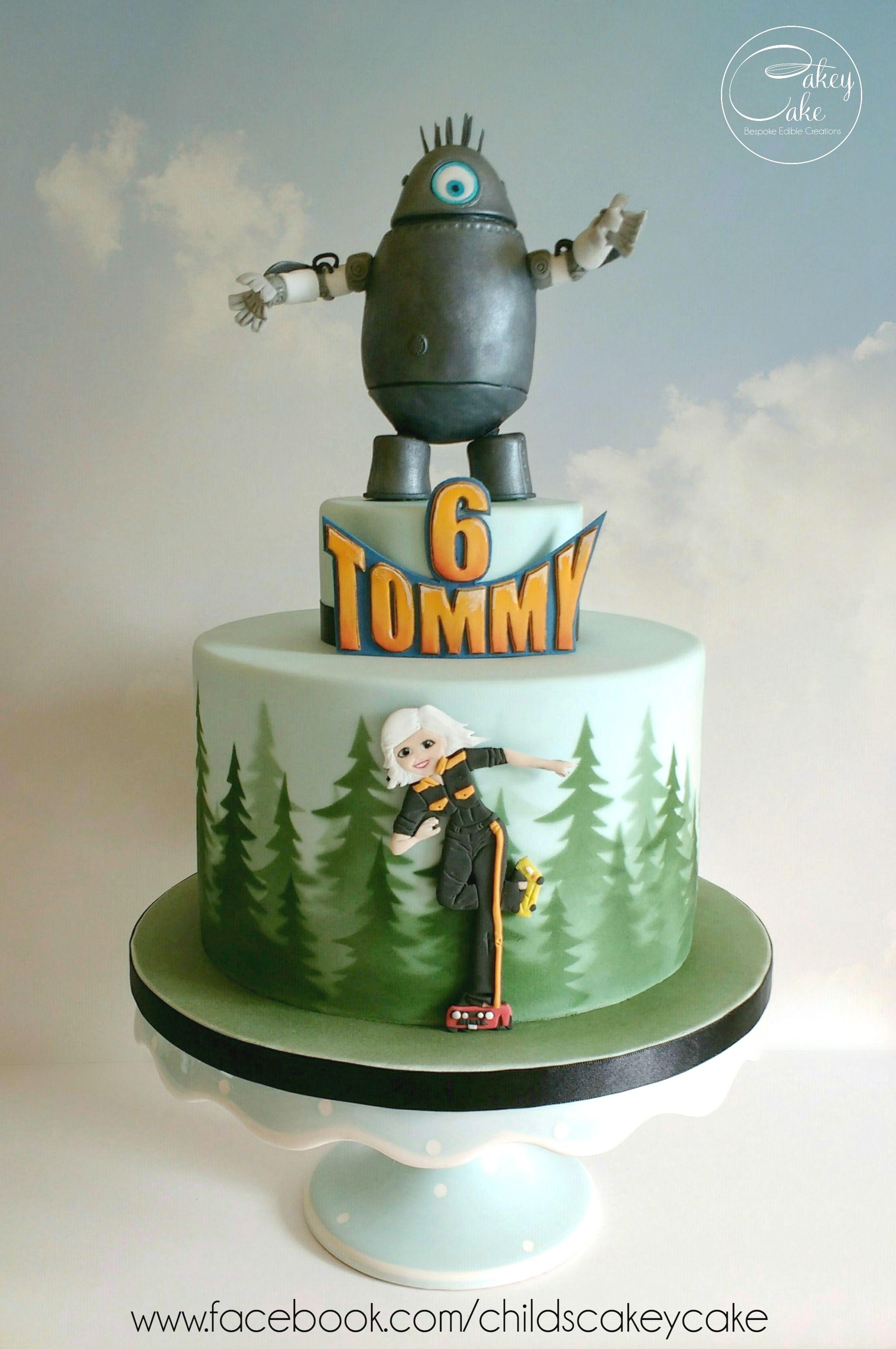Monsters Vs Aliens Cake By Cakeycake Www Facebook Com