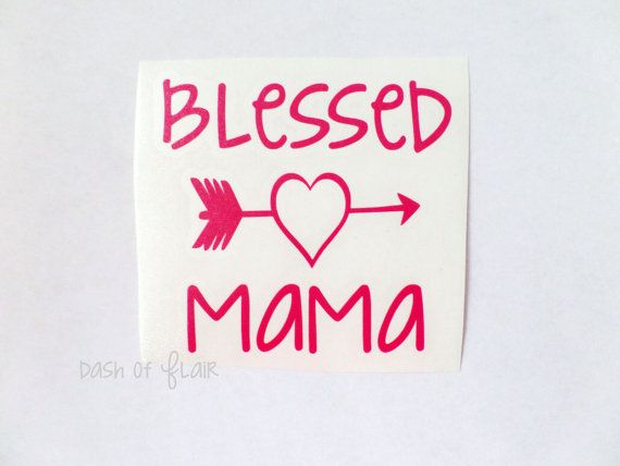 Blessed mama decal ready to ship mom decal gift for mom yeti blessed mama decal ready to ship mom decal gift for mom yeti negle Gallery
