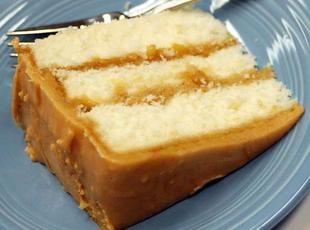 Classic Southern Caramel Cake Recipe. ☀CQ #southern