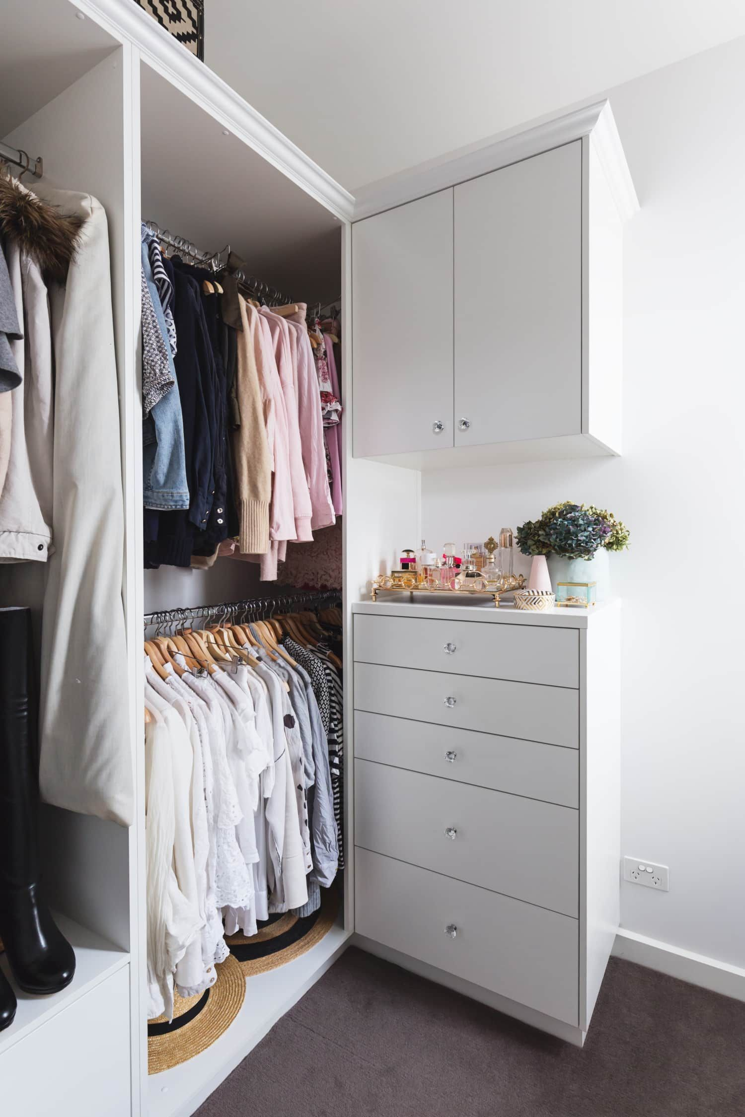 get a closet that works for you 5 ways to customize yours closet rh pinterest com