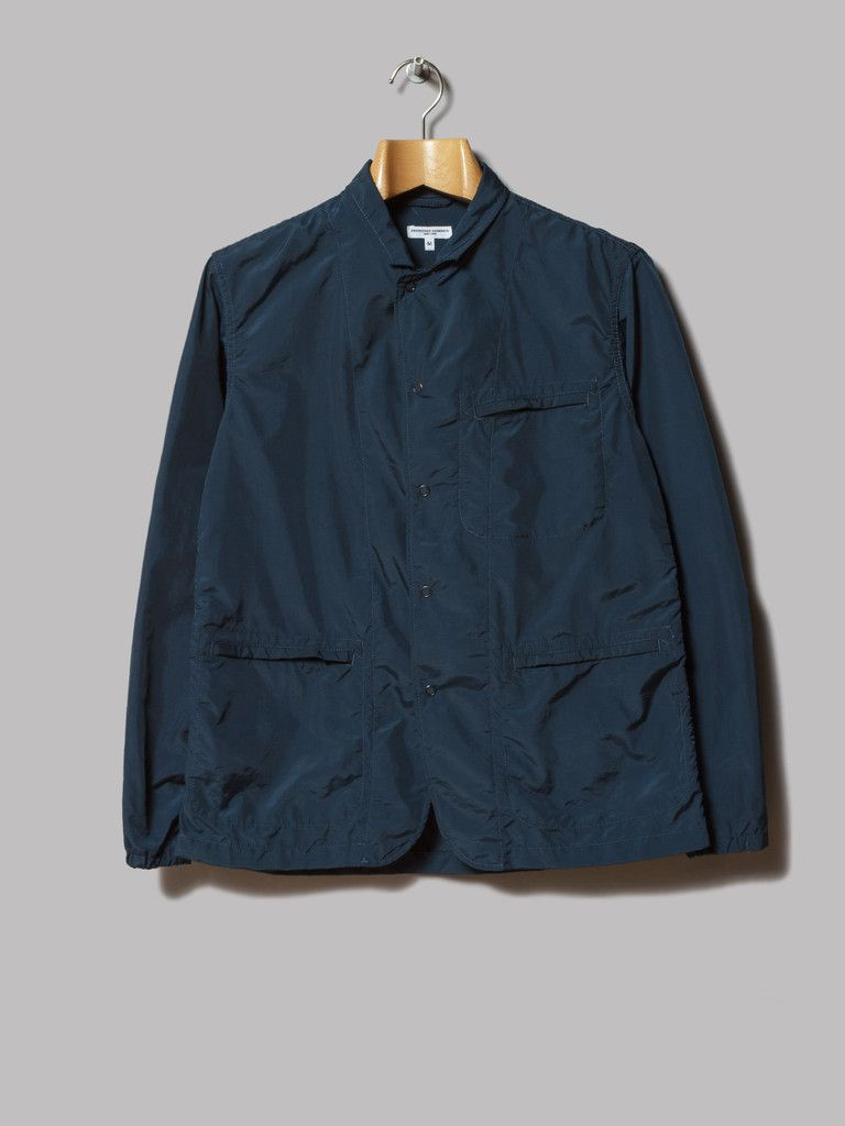 Engineered Garments Knockabout Jacket (Navy 2ply Nylon Taslan)