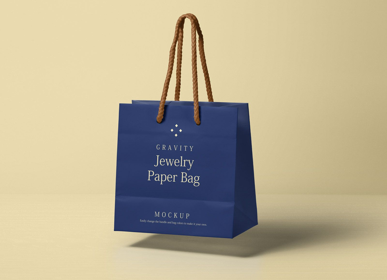 Download This Is A Psd Jewelry Paper Bag Mockup To Complement Our Psd Shopping Bag Mockup Series You Can Change The Handle And Bag Color Acco Bag Mockup Paper Bag Bags