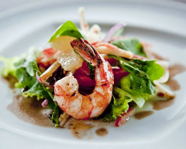 Jerk Shrimp and Citrus Salad #jerkshrimp