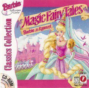 Magic Fairy Tales Barbie As Rapunzel Pc Game Barbie Random Stuff