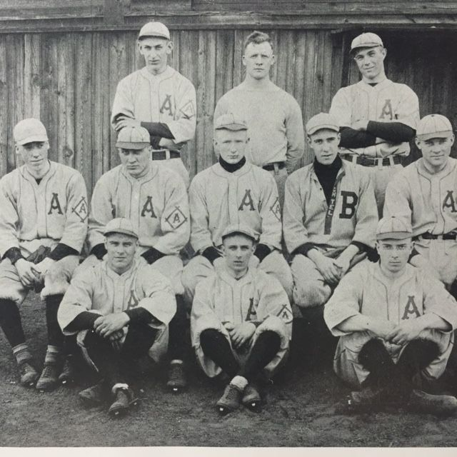 The Baseball Team-The TEL-BUCH Yearbook 1916