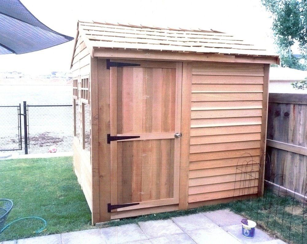 Bayside Diy Lean To Storage Sheds Garden Shed Kits 400 x 300