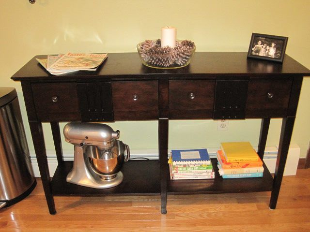 Pier 1 console table - This would look good in my entry way/living room!