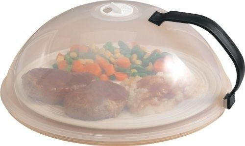 Miles Kimball Vented Microwave Cover with Handle - 10' Diameter x 4' High