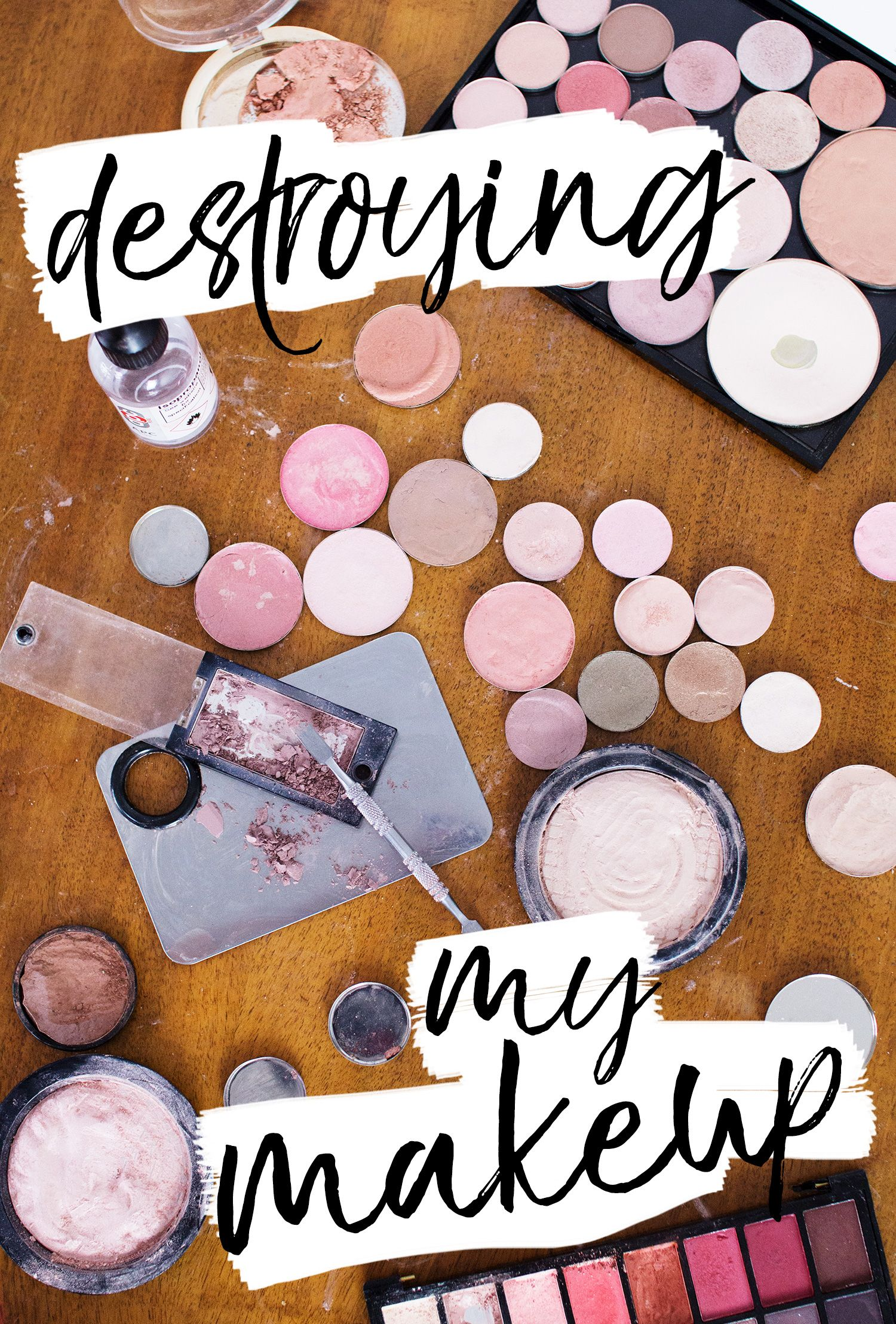 I Destroyed My Makeup for Fun... (but don't worry, I