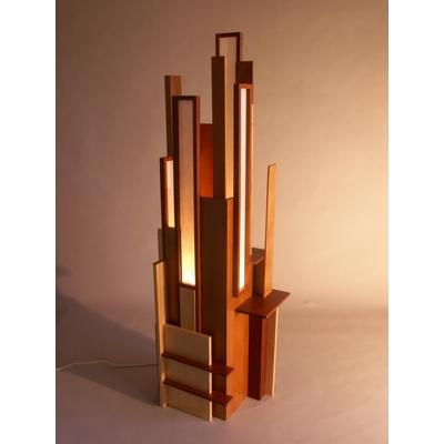Frank Lloyd Wright Table Lamp Woodenlamp Lamp Design