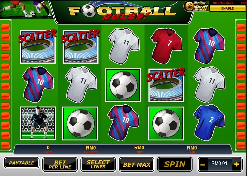 'Football Rules' onlinecasino slotgame Football rules