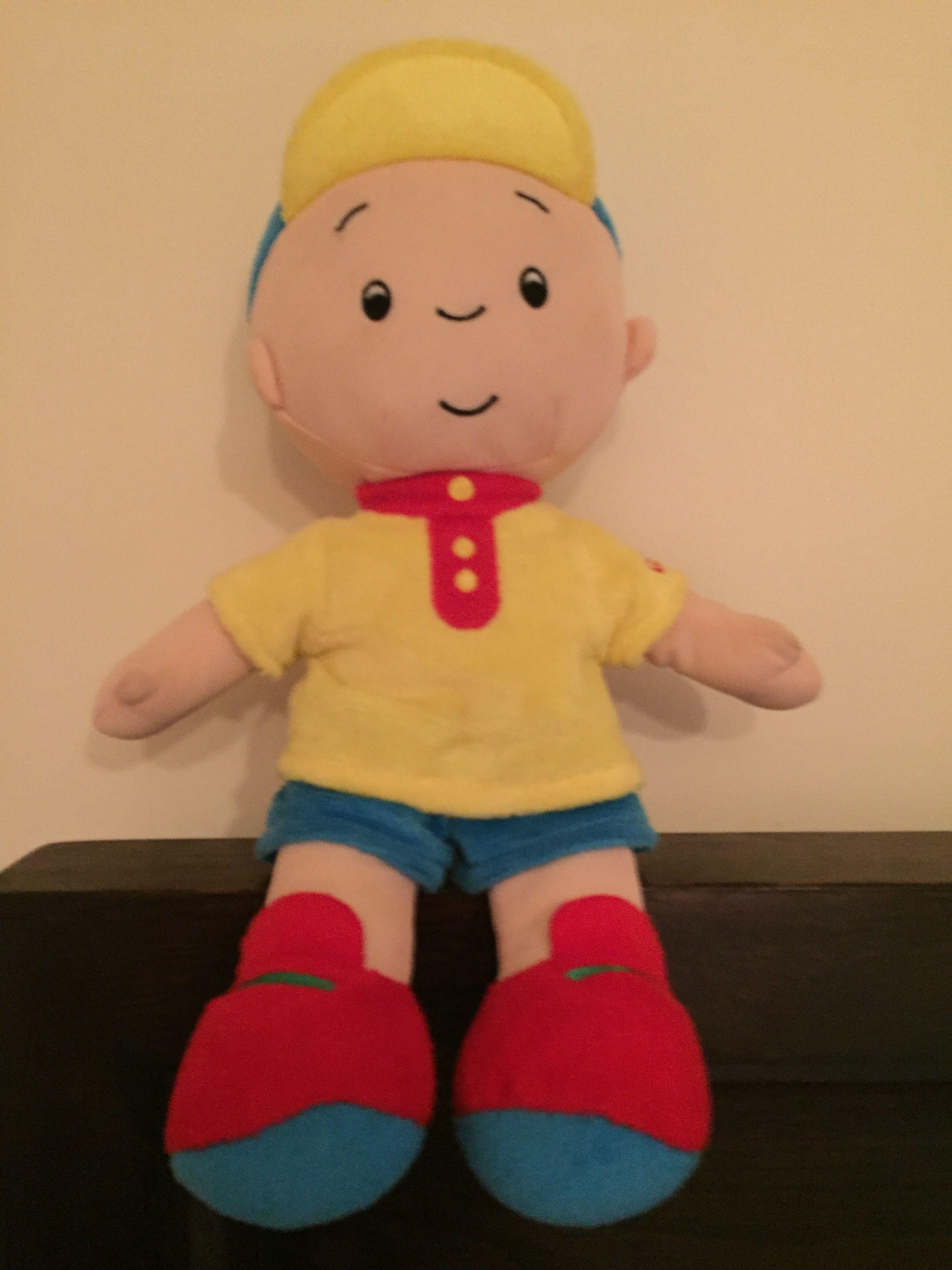 Free shipping 12inch Caillou Plush Soft Stuffed Cartoon Figure Doll Kids Toys
