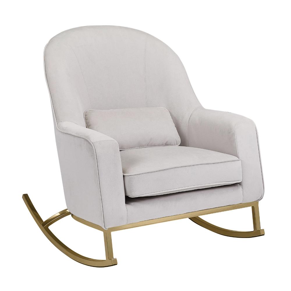 Free 2day shipping. Buy MoDRN Glam Velvet Rocking Chair