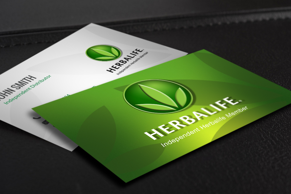 Herbalife Distributors Can Use Our On Site Designer To Create An Awesome New Business Card Mlm Herbali Herbalife Business Cards Herbalife Herbalife Business