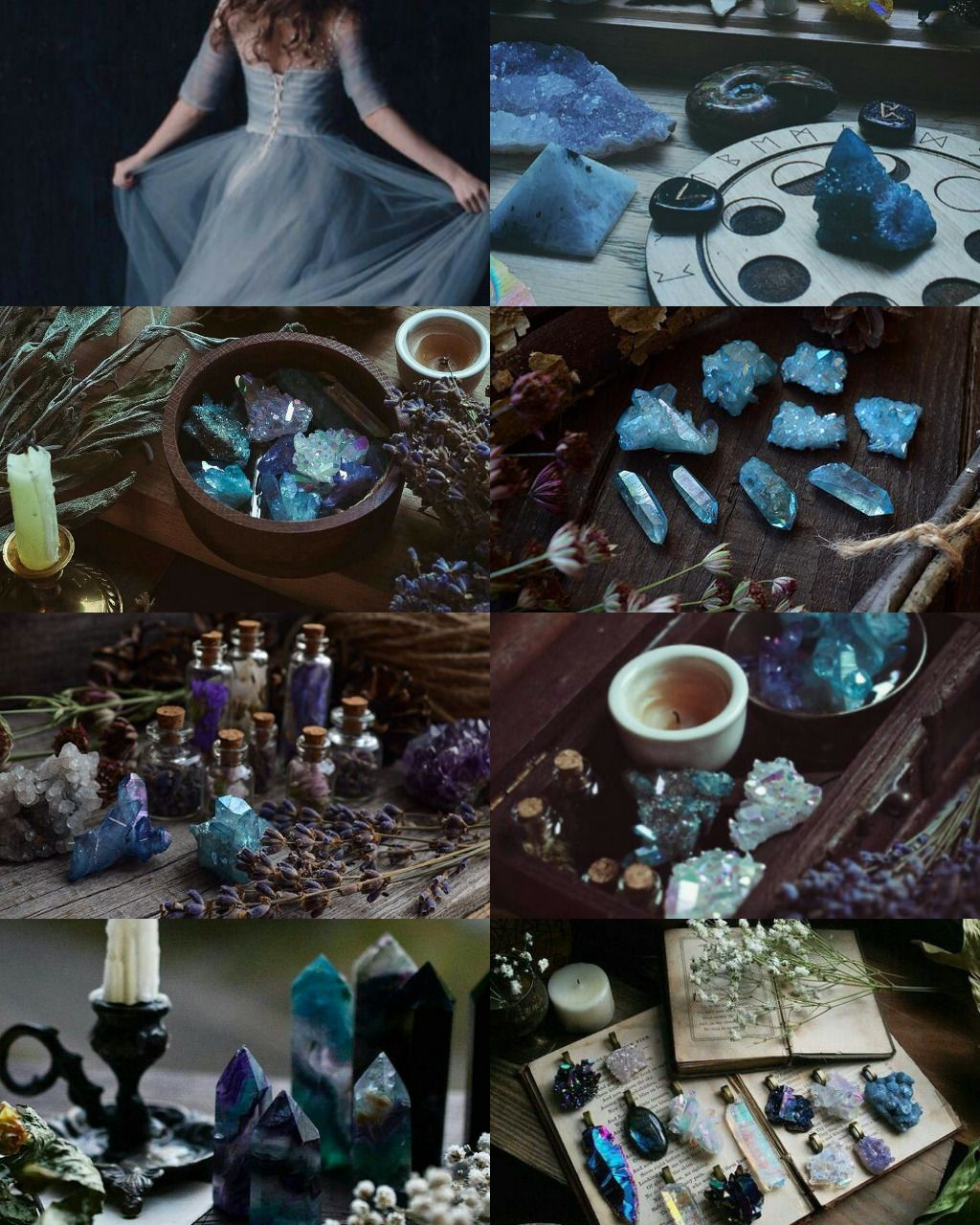 Blue witch aesthetic Witch aesthetic, Magical pictures