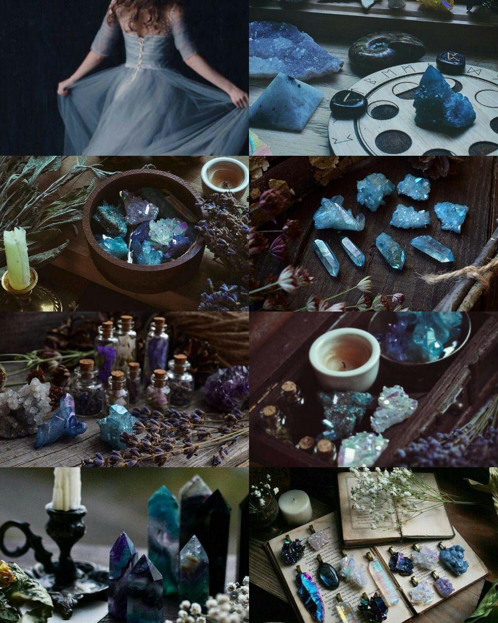 Blue witch aesthetic | Witch aesthetic, Witch, Water witch