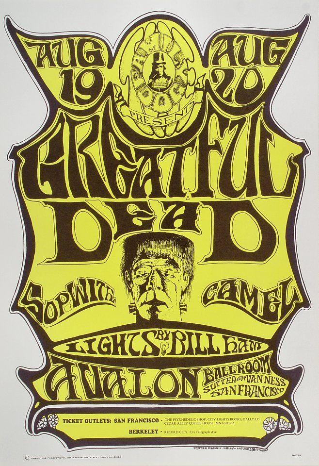 Grateful Dead - Avalon ballroom 1969   8raita