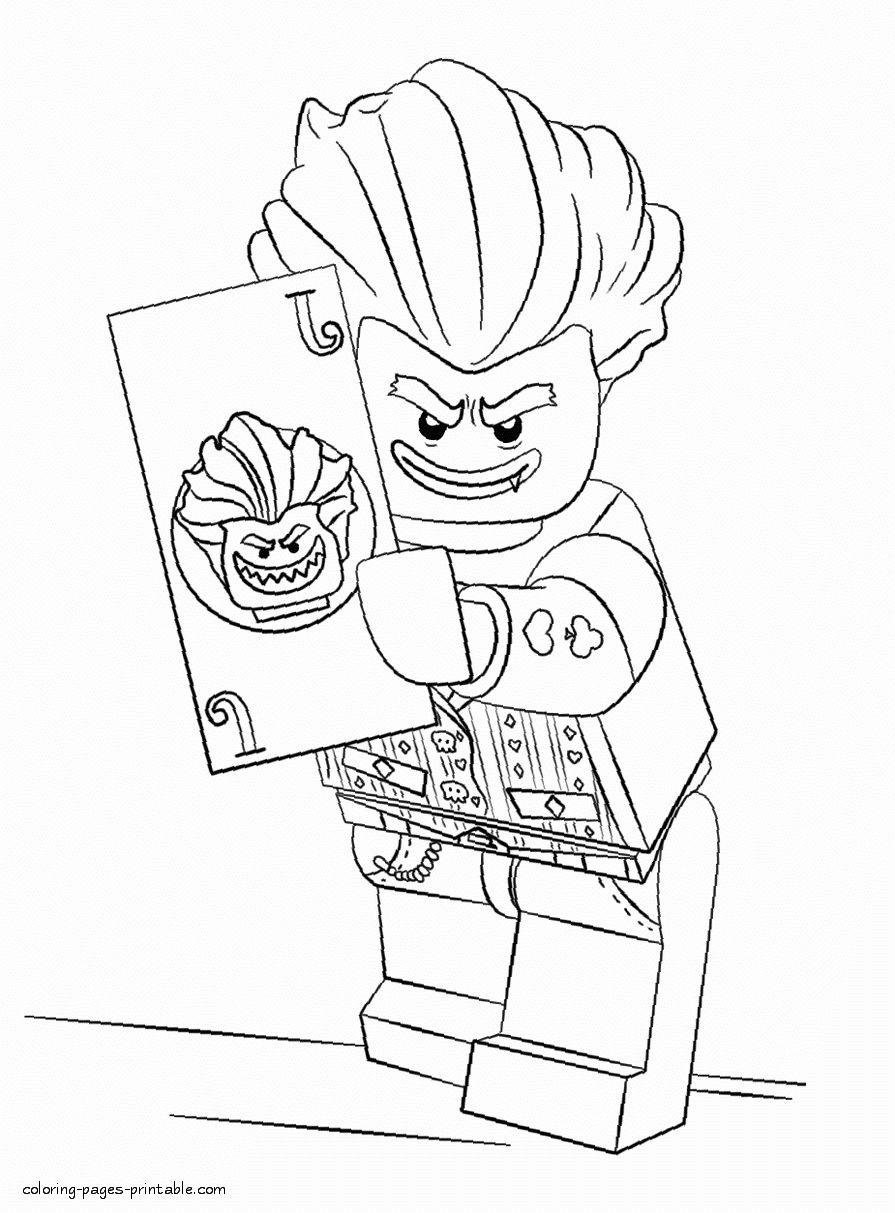 Lego Joker Coloring Page Inspirational 18 Batman Lego Coloring