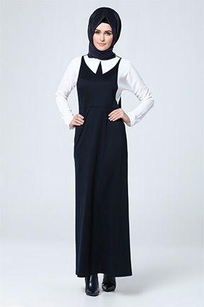 d072c83ccf749 Tesettür Elbise | fasihon | Elbise modelleri, Giyim, Eşarp