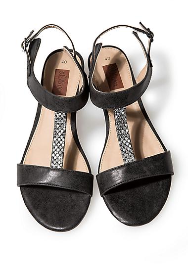 Sandaletten mit Schmucksteinen im s.Oliver Online Shop