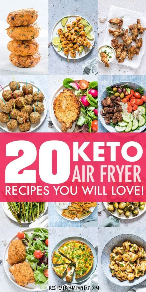 20 Keto Air Fryer Recipes