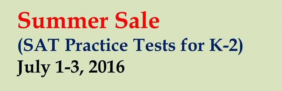 SAT practice tests for kindergarten first grade and second grade – Sat Practice Worksheets
