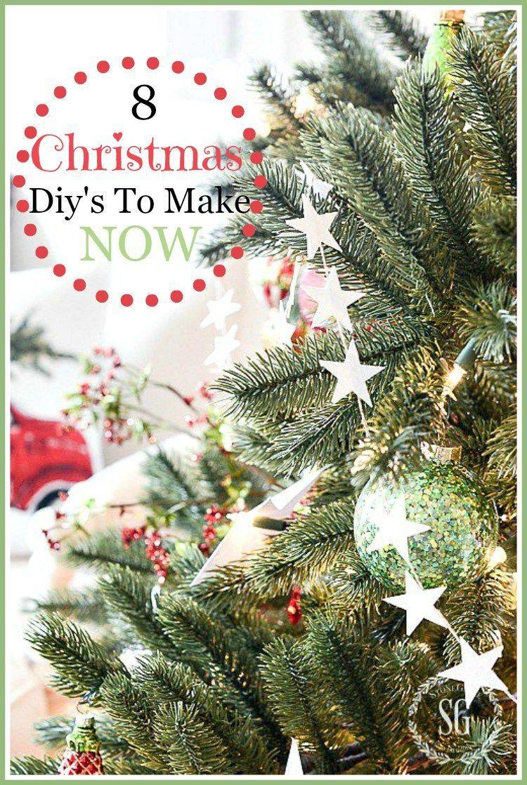 8 CHRISTMAS DIY\'S TO MAKE NOW | Christmas | Pinterest | Christmas ...