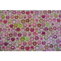 Apple cake  - pink