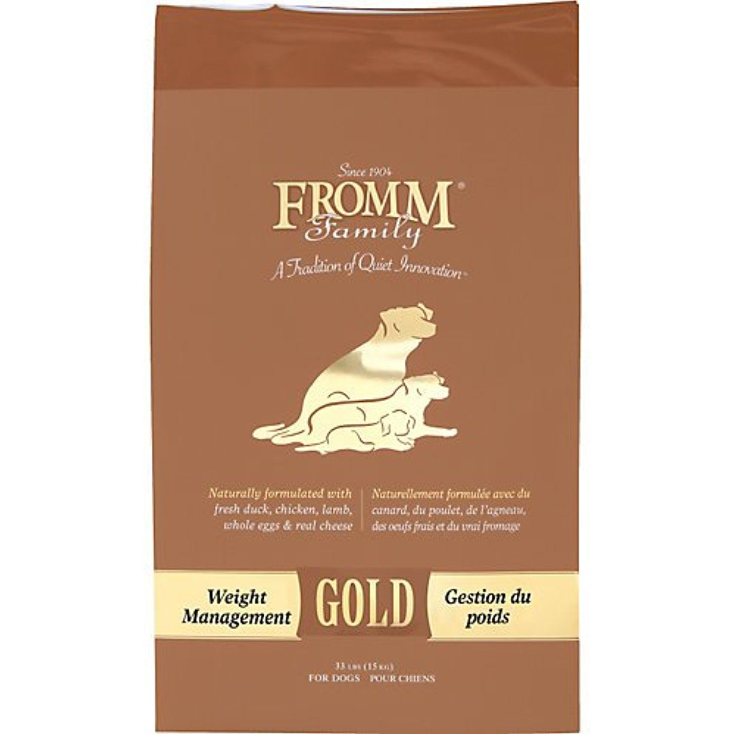Fromm Gold Weight Management Dry Dog Food 33lb You Can Click