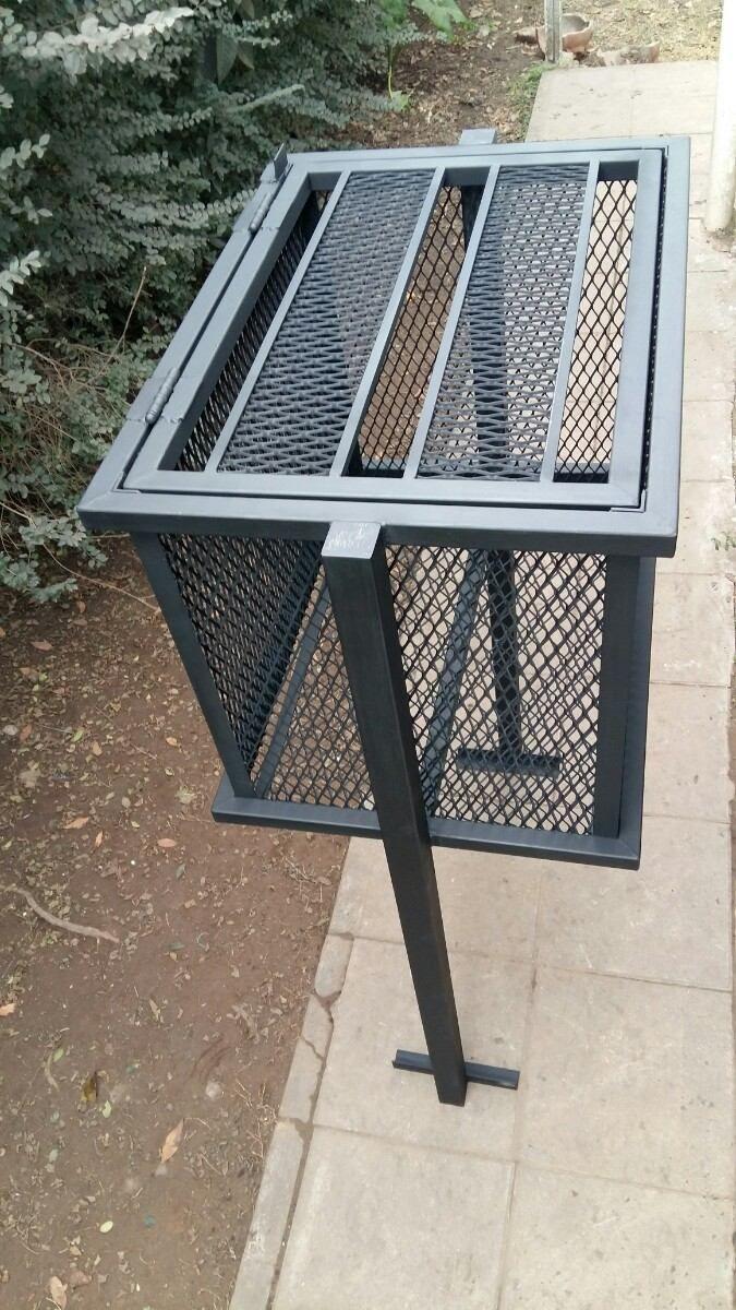 Resultado de imagen para cestos de basura de hierro for Muebles industriales metal baratos