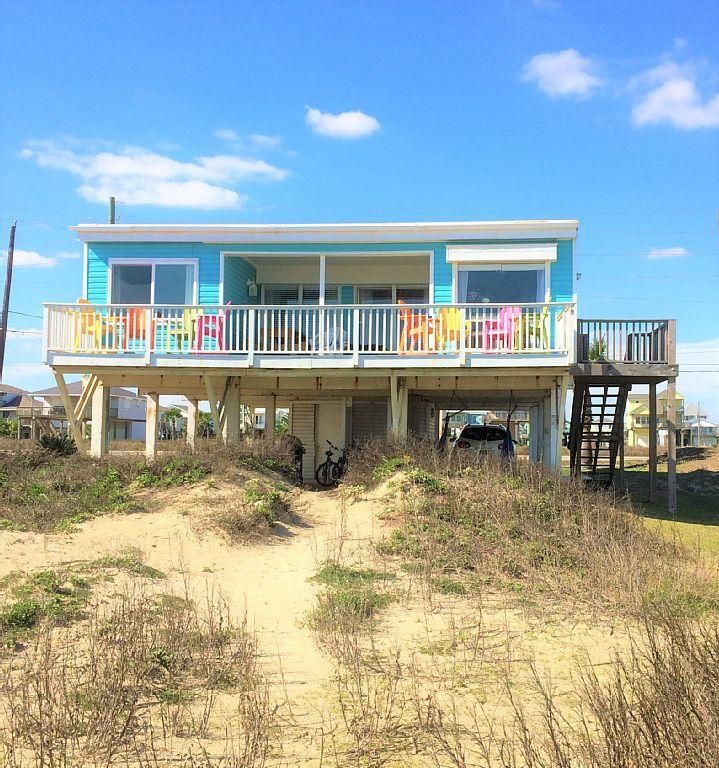 Strange House Vacation Rental In Terramar Beach Galveston Tx Usa Home Interior And Landscaping Mentranervesignezvosmurscom