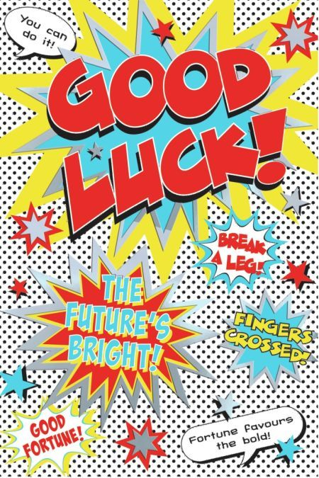 Good luck  (Ned Taylor)