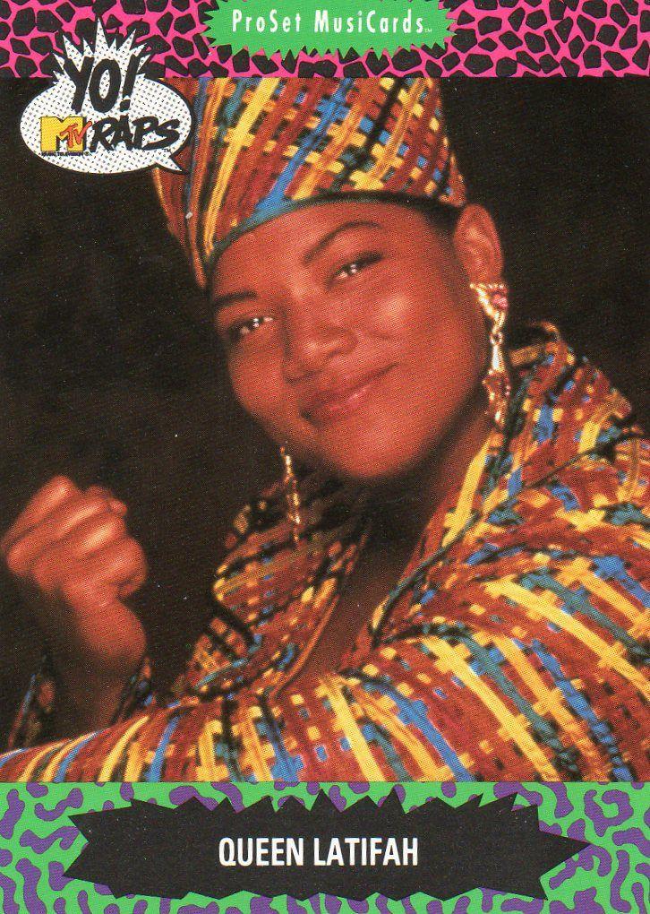 (1991) Yo! MTV Raps Trading Cards Hip hop culture, Yo