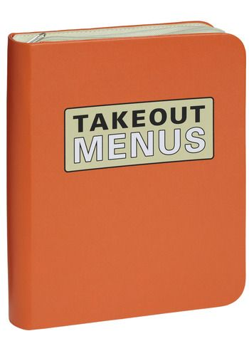 Ready, Set, To-Go Menu Organizer
