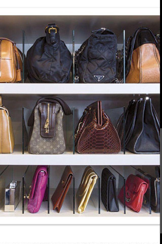 Handbag Fanatic Almacenamiento De Bolso Almacenamiento De Monederos Armario Para Bolsas
