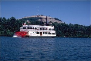 Henry W. Grady Paddlewheel Riverboat rental at Stone Mountain, Georgia