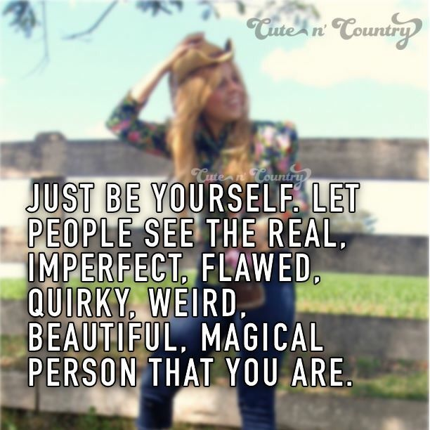 Be Yourself Quotes Cute: Quotes & Sayings