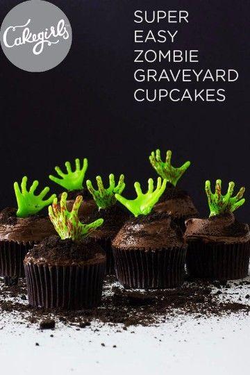 cupcakes para halloween rellenos                                                                                                                                                                                 Más