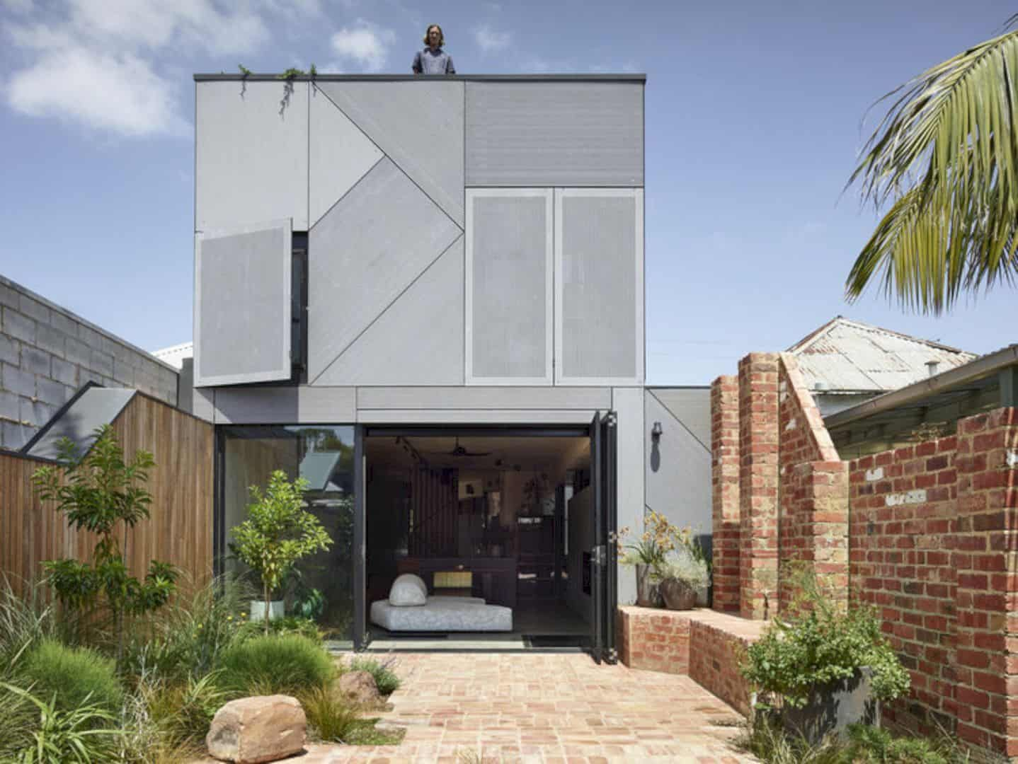 Union House A Fun Multi Level Home With Dramatic And Playful Features And Thoughtful Design In 2020 Architect Architecture Level Homes
