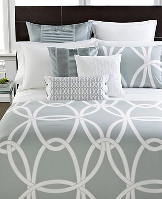 Hotel Collection Embroidered Frame Bedding Collection Created For Macy S Reviews Designer Bedding Bed Bath Macy S In 2021 Macys Bedding White Bed Set Turquoise Bedding