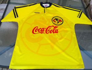 e65bd0c42 ESMIR Coca Cola Club America Football Soccer JERSEY MENS XL LIGA ...