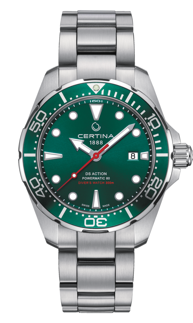 Certina Ds Action Diver Powermatic 80 Reference C032 407 11 091 00 As A True Diver S Watch Relojes De Lujo Para Hombres Relojes Elegantes Reloj De Hombre