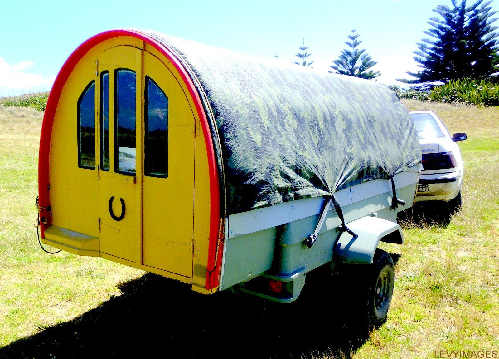 The Flying Tortoise: Betsee. The Inspirational Little Homemade Camping Trailer Cost Only Eighty Two Dollars...