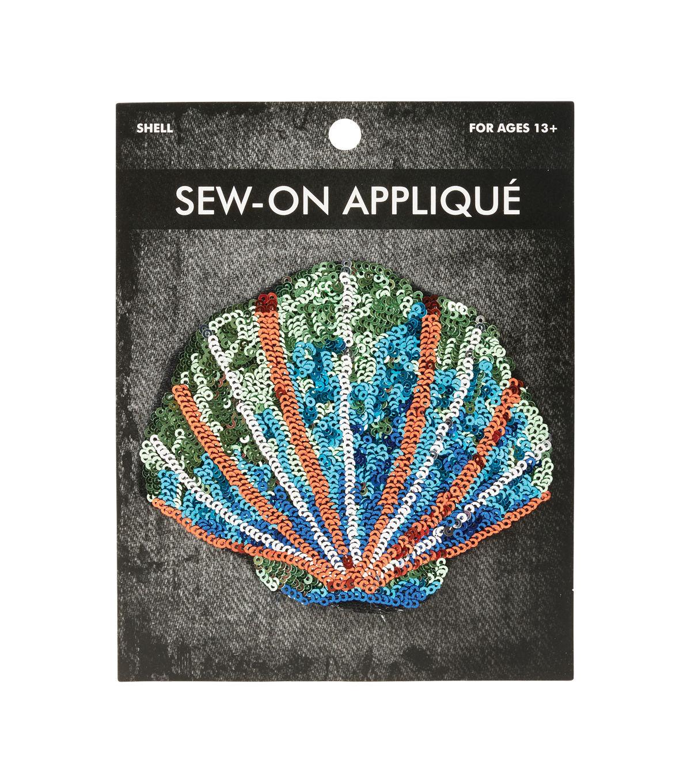 Shell Sequins Applique Sewing, Sequin appliques, Joanns