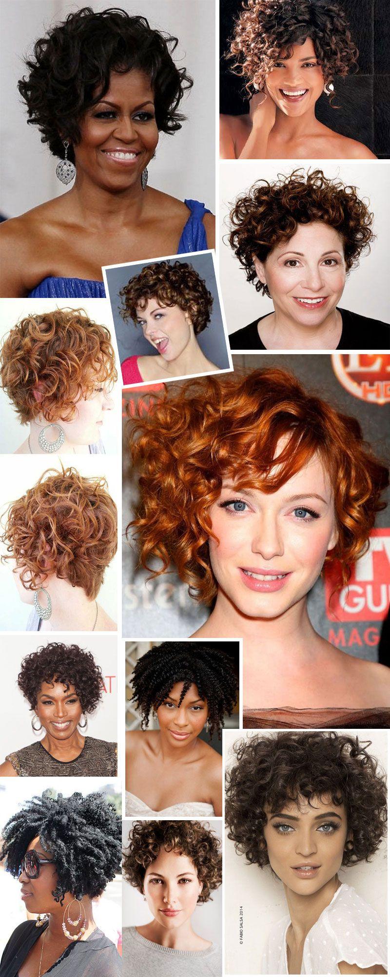 Cabelos cacheados cortes pra inspirar curly shoulder length